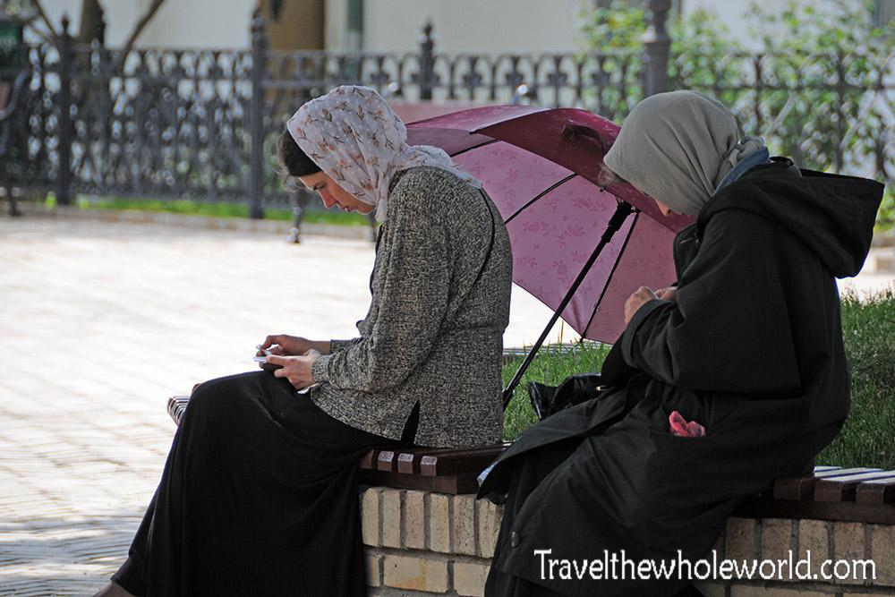 Ukraine Kiev Monastery Women