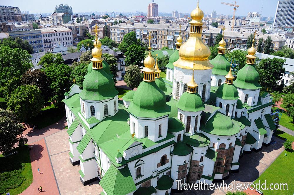 Ukraine Kiev St Sophia Cathedral