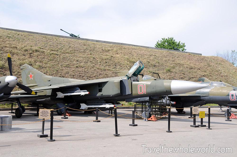 Ukraine Kiev War Museum Aircraft