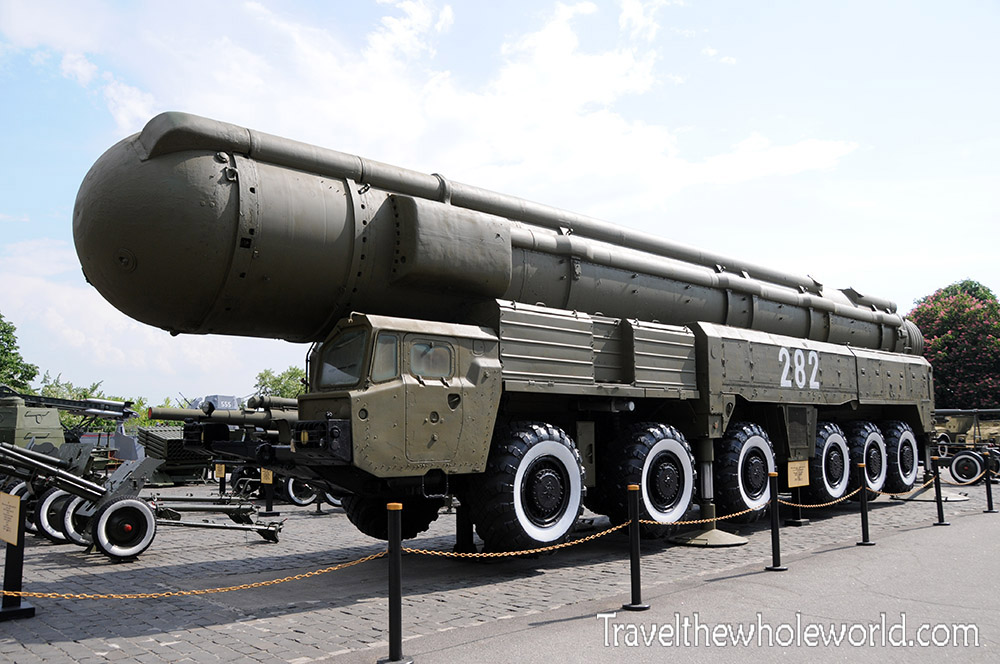 Ukraine Kiev War Museum ICBM