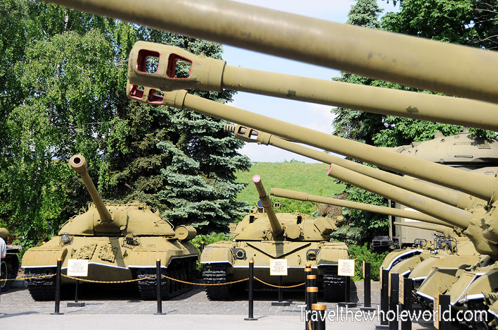 Ukraine Kiev War Museum Tanks