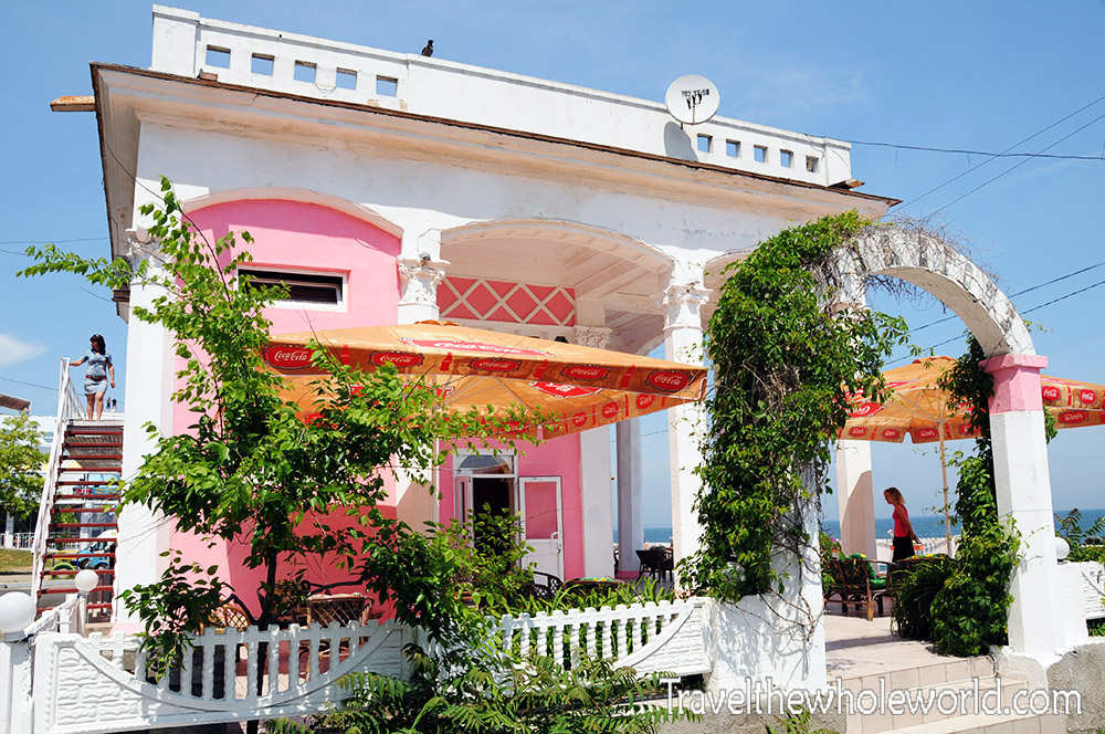 Ukraine Odessa Beach Cafe