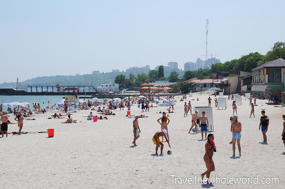 Ukraine Odessa Beach