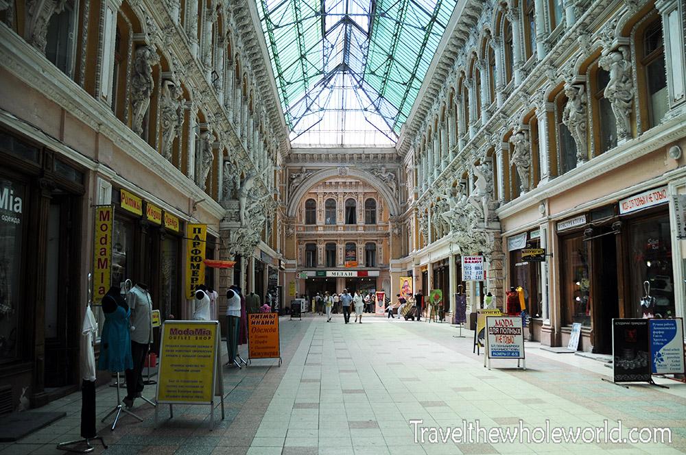 Ukraine Odessa Indoor Mall