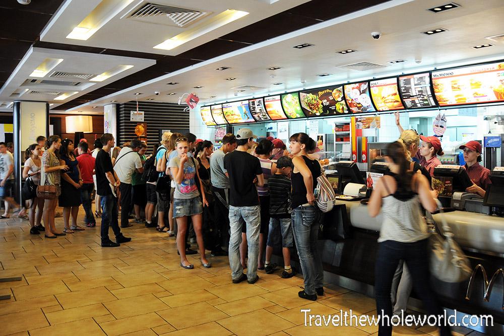 Ukraine Odessa McDonalds