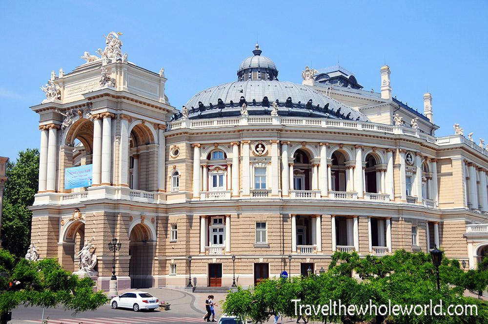 Ukraine Odessa Opera House