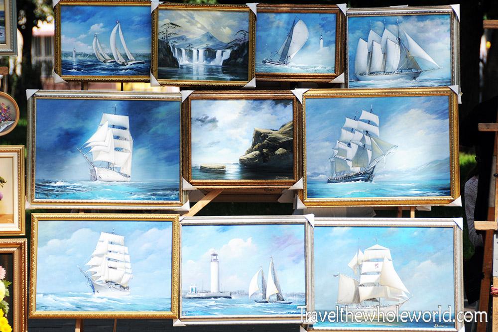 Ukraine Odessa Paintings