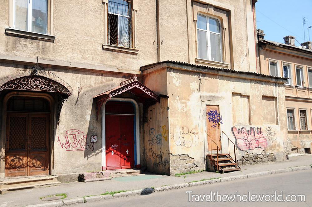 Ukraine Odessa Side Street