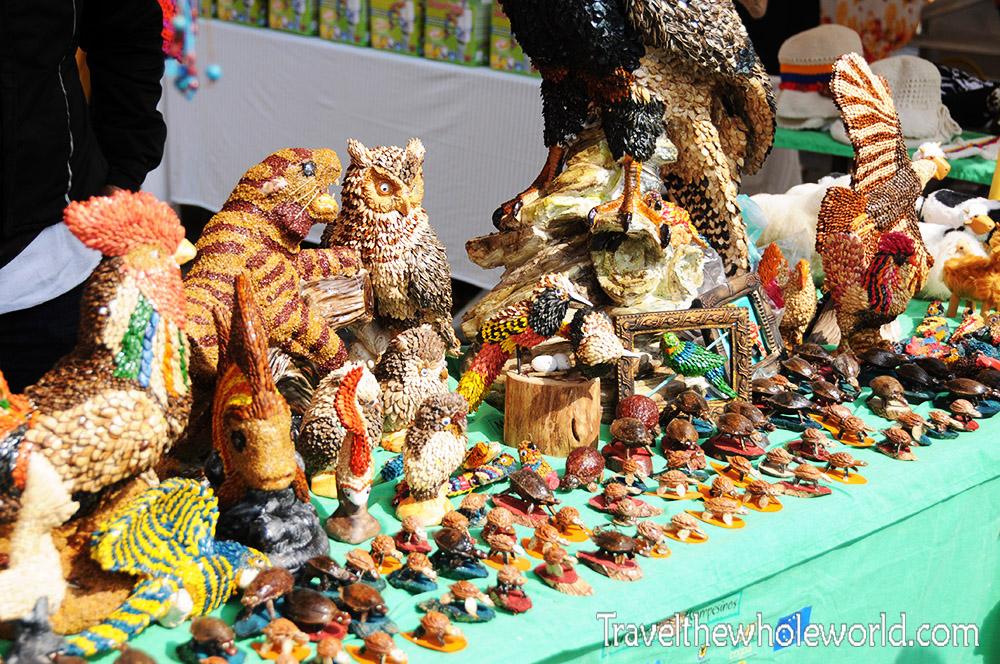 Colombia Bogota Mercado Souvenirs