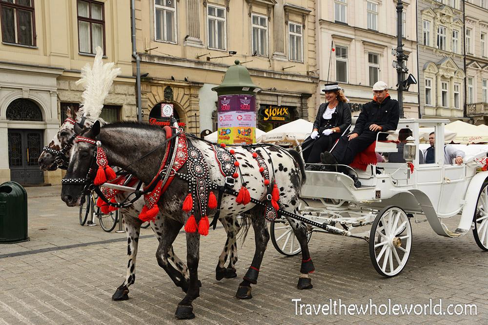 Poland Krakow Horse & Carriage