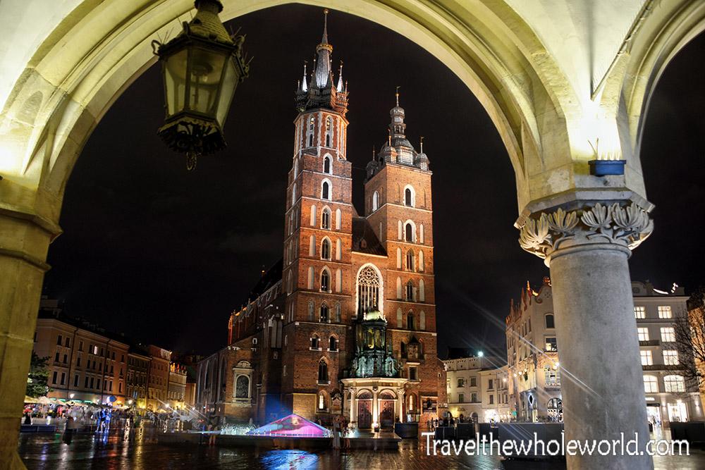 Krakow Poland St. Mary's Basilica