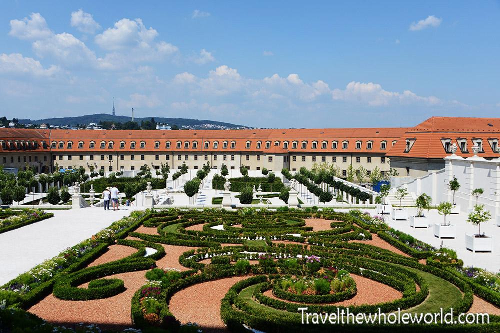 Bratislava Castle Garden