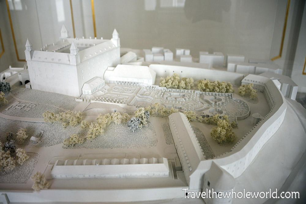 Bratislava Castle Model