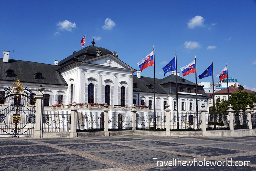 Bratislava Slovakia Presidential Palace