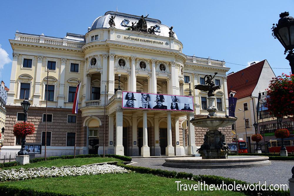 Slovak Bratislava National Theater