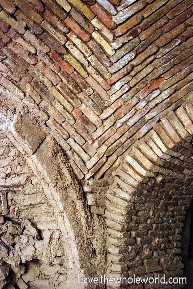 Afghanistan Alexander the Great's Castle Brick Construction