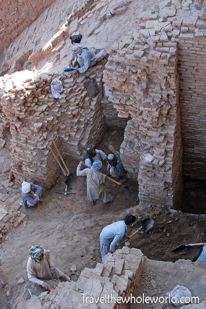 Afghanistan Herat Citadel Excavation