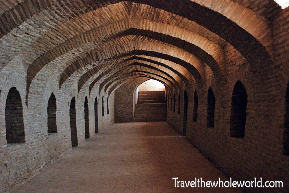 Afghanistan Alexander the Great's Castle Ancient Hallway