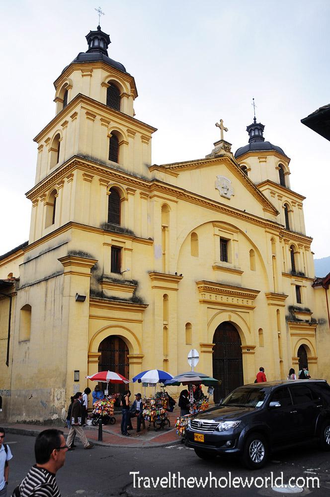 Colombia Bogota Church