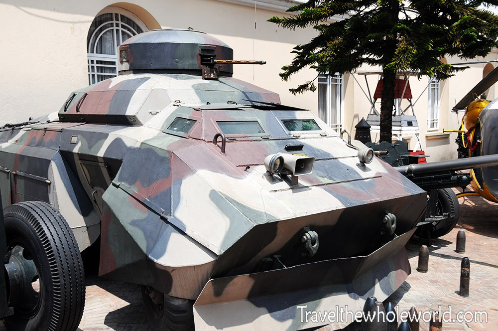 Colombia Bogota Museum Military Tank