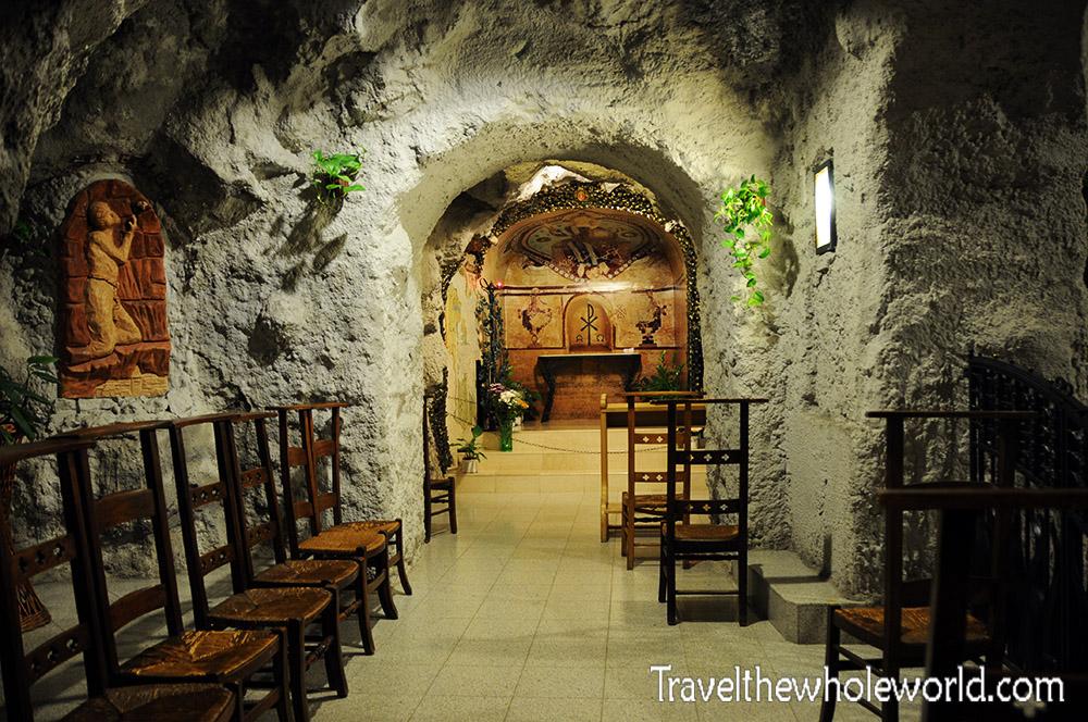 Budapest St Ivan Gellért Hill Cave Inside