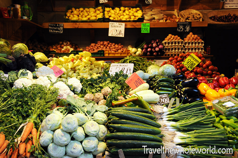 Budapest Great Market Hall Fruits