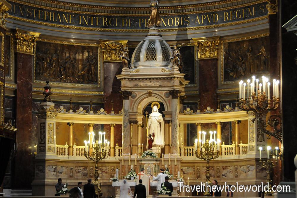 Budapest Inside St. Stephen's Basilica