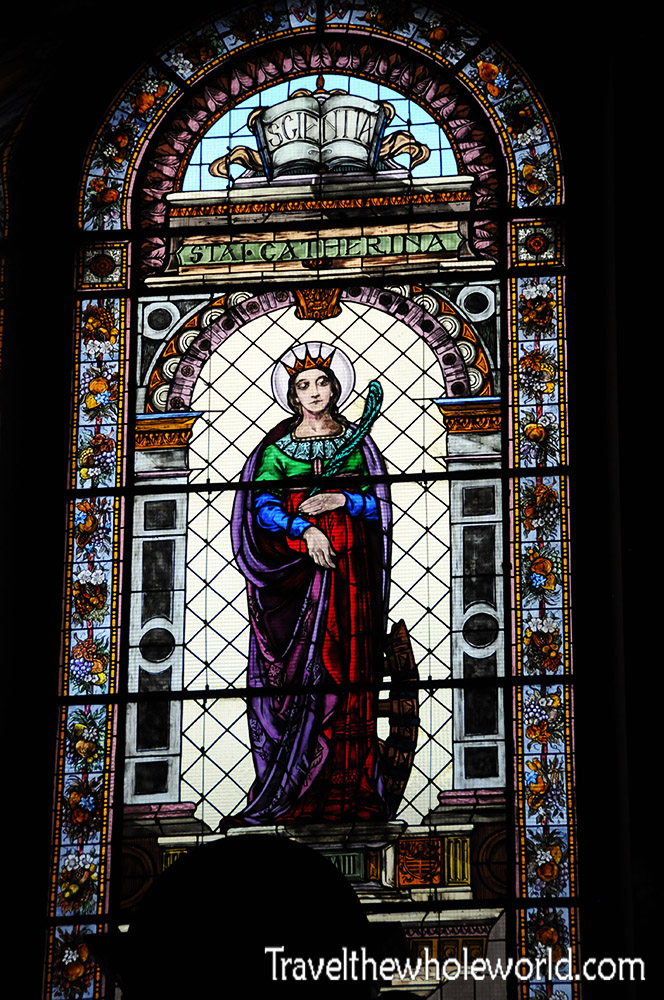 Budapest St Stephen's Basilica Stained Glass
