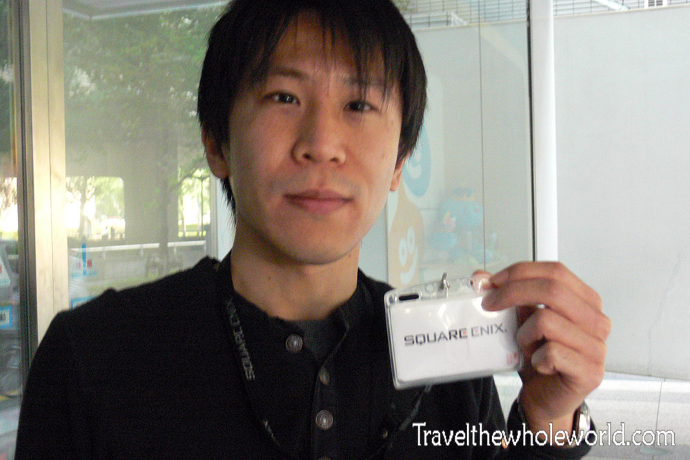 Japan Tokyo Square Enix Designer