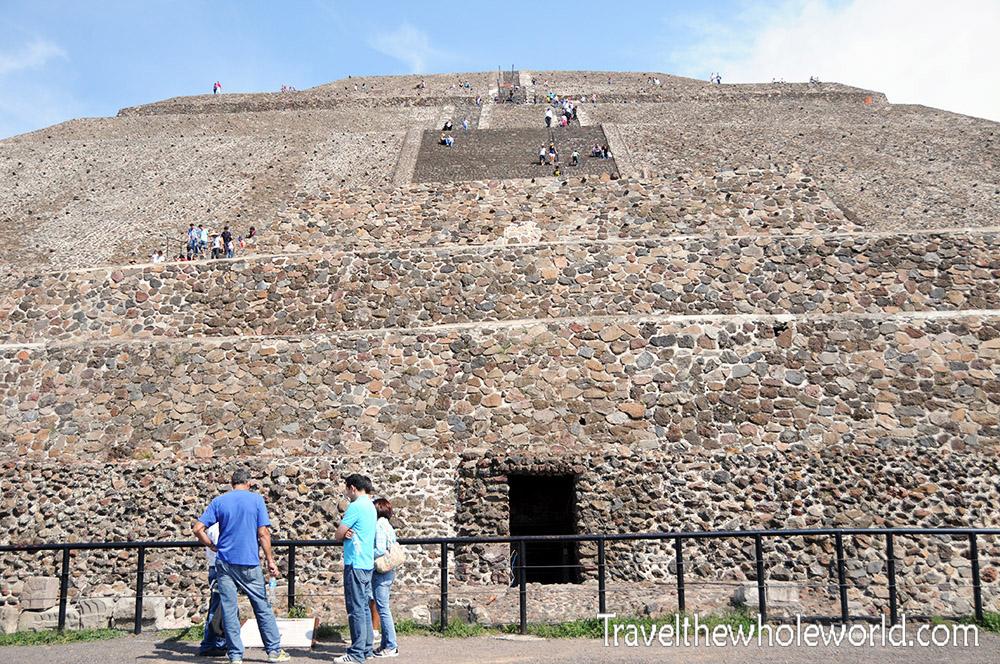 Mexico Teotihuacan Pyramid Sun