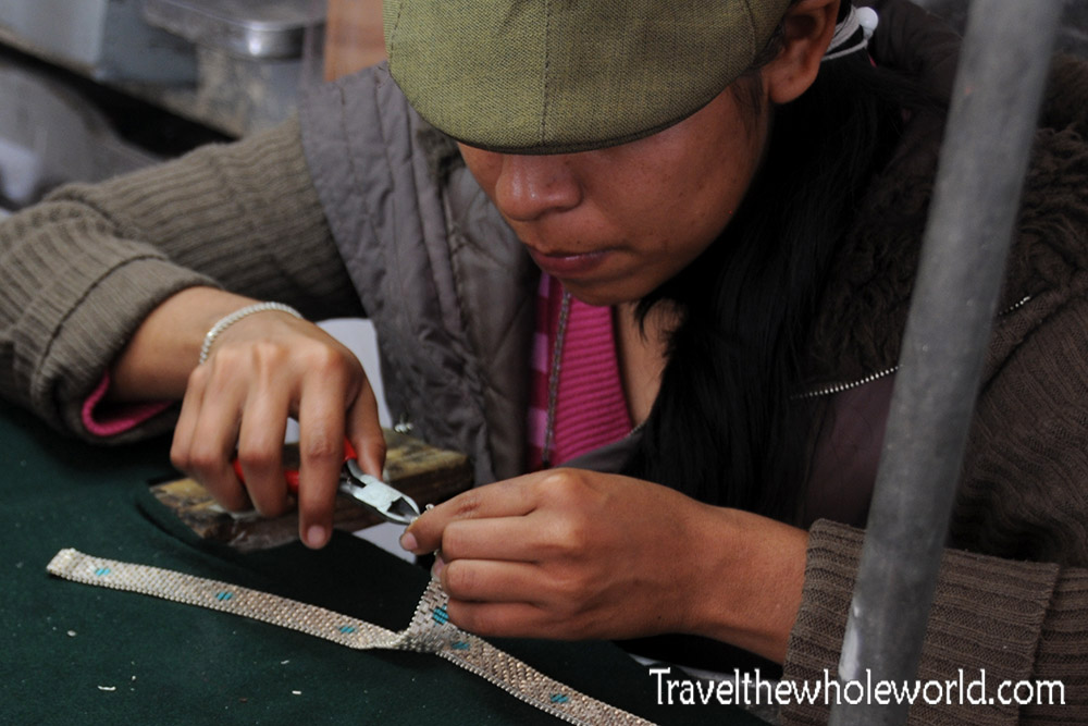 Teotihuacan Souvenir Maker