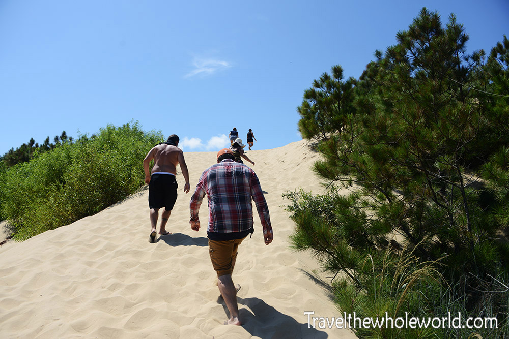 Jockey Ridge Sand Dunes Climb