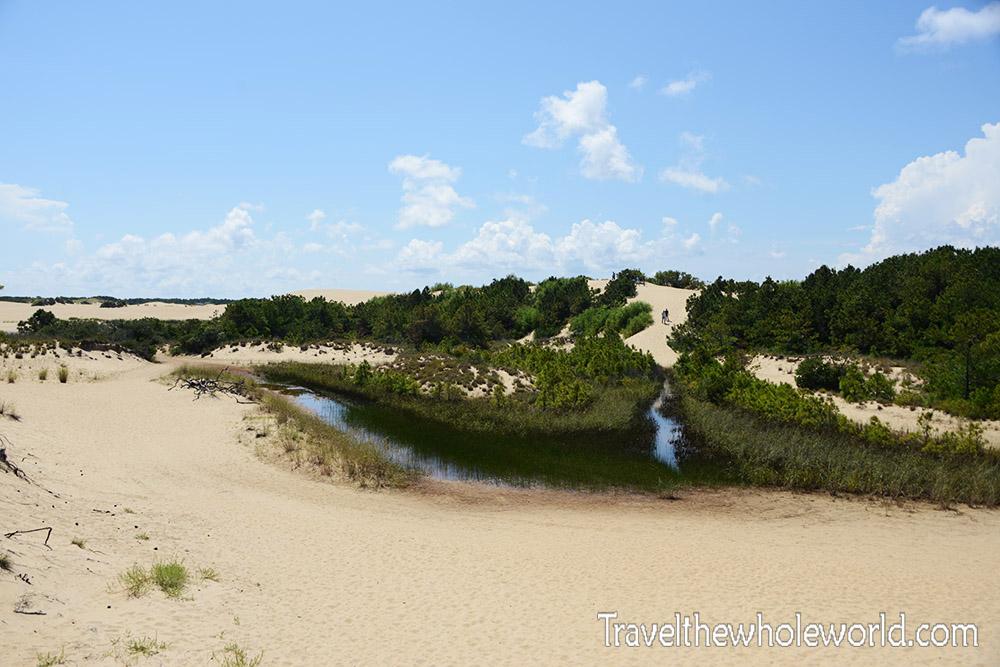 Jockey Ridge Sand Dunes Entrance