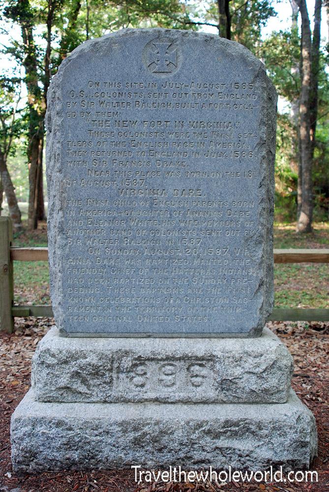 Roanoke Colony Memorial