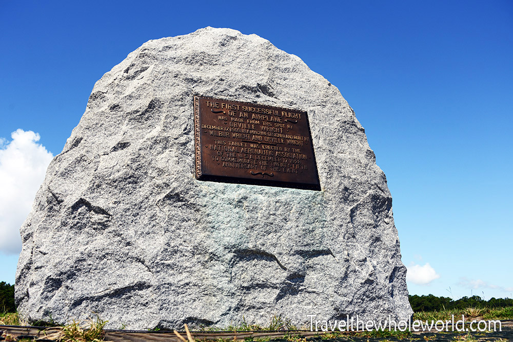 Wright Brother's Marker Memorial