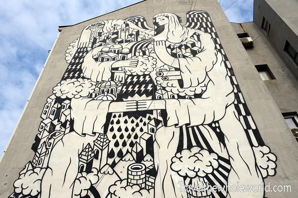 Belgrade Mural Painting