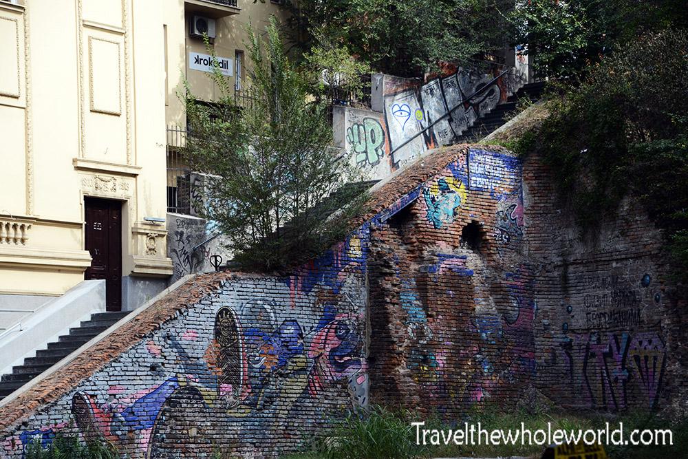 Belgrade Graffiti Staircase