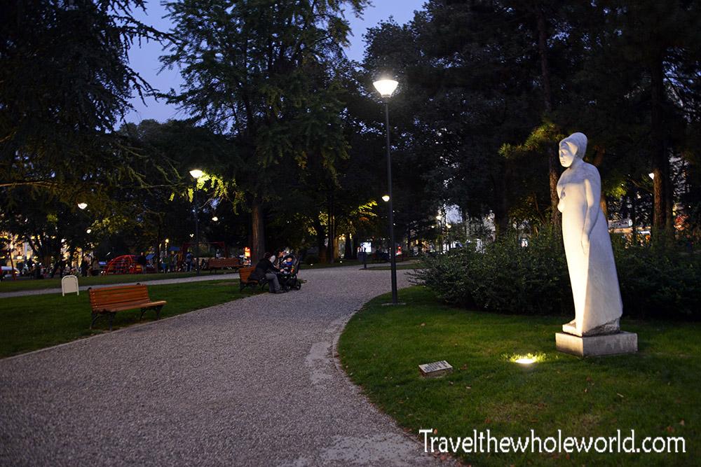 Belgrade Night City Park