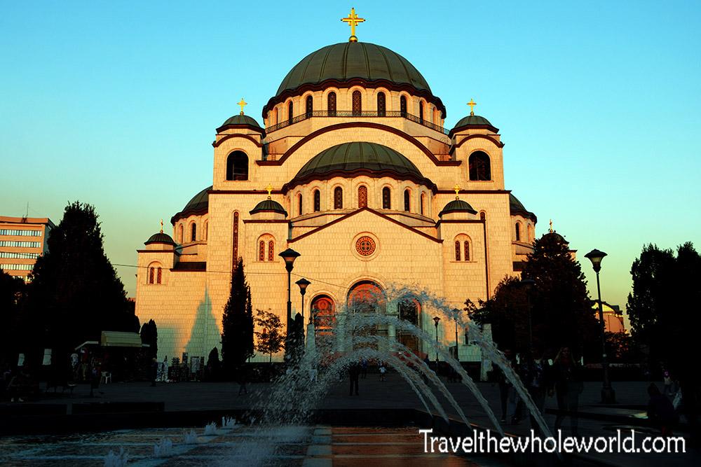 Serbia Belgrade Saint Sava