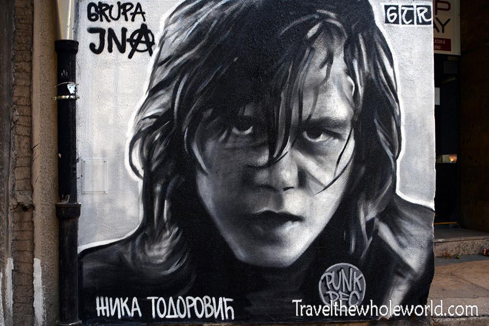 Serbia Belgrade Spray Paint Artist