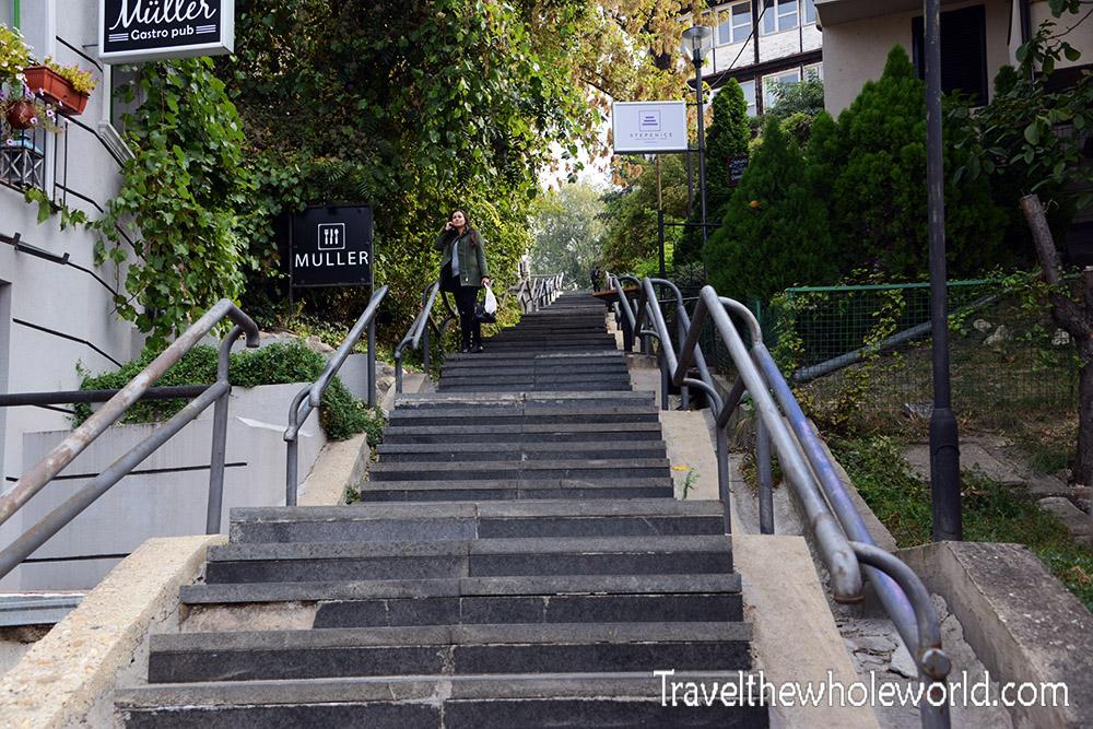 Serbia Belgrade Stairs