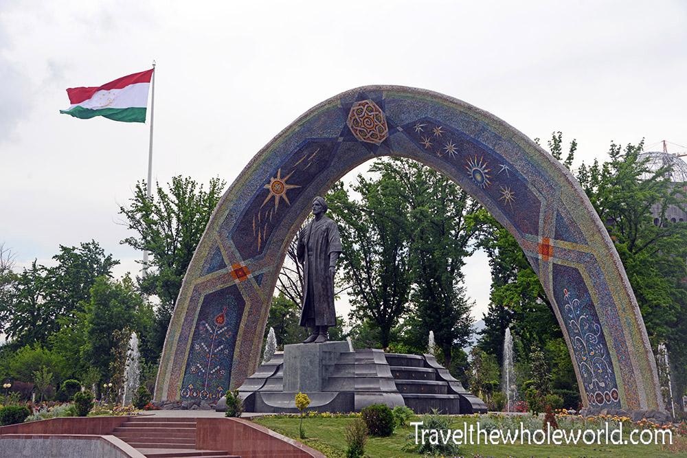 Tajikistan Dushanbe City Park