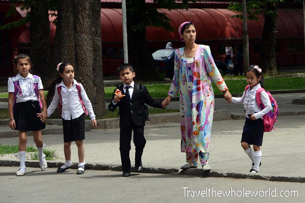 Tajikistan Dushanbe Family