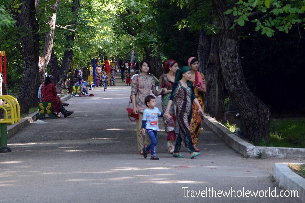 Tajikistan Dushanbe Gardens