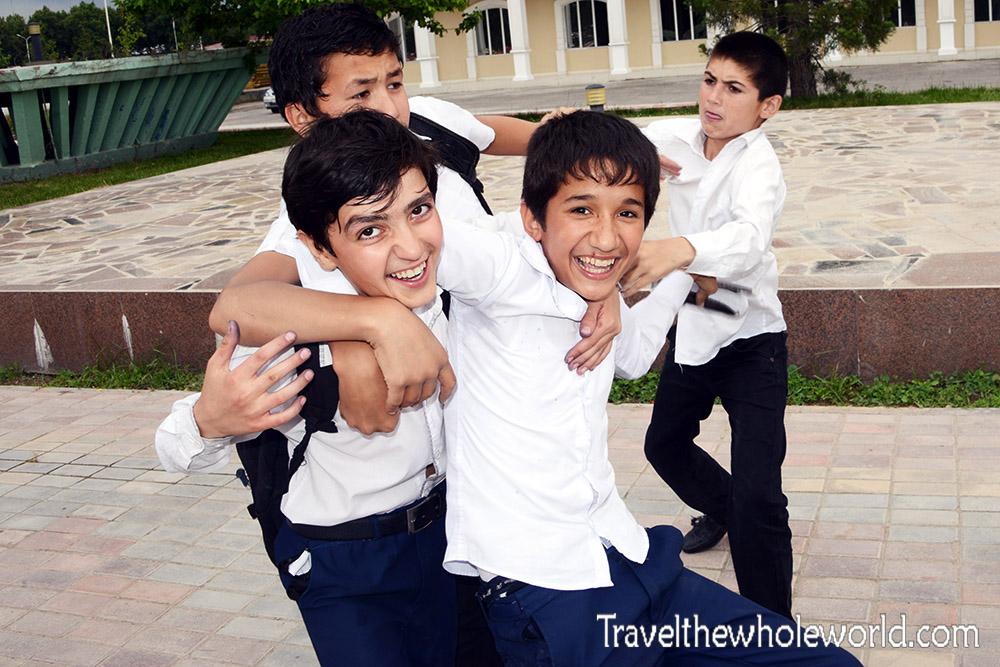 Tajikistan Dushanbe Kids