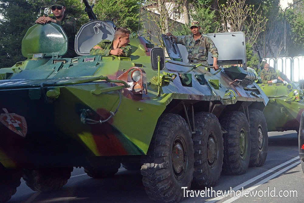 Tajikistan Tanks Military Armor