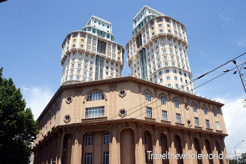Tajikistan Dushanbe New Building
