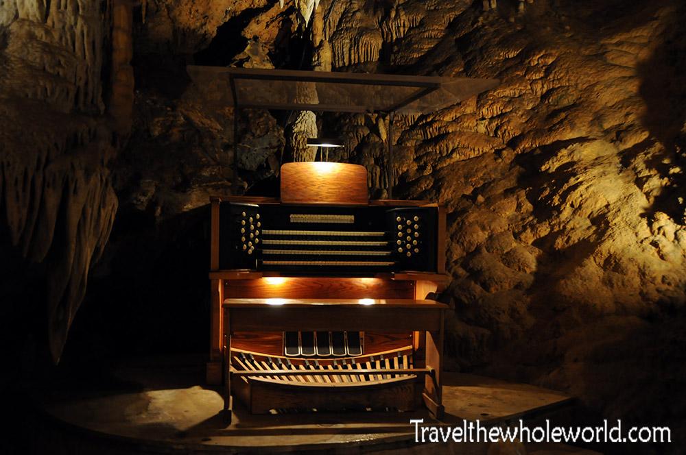 Virginia Luray Caverns Stalacpipe Organ