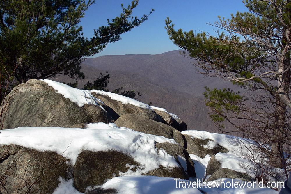 Shenandoah Winter Trail Hiking