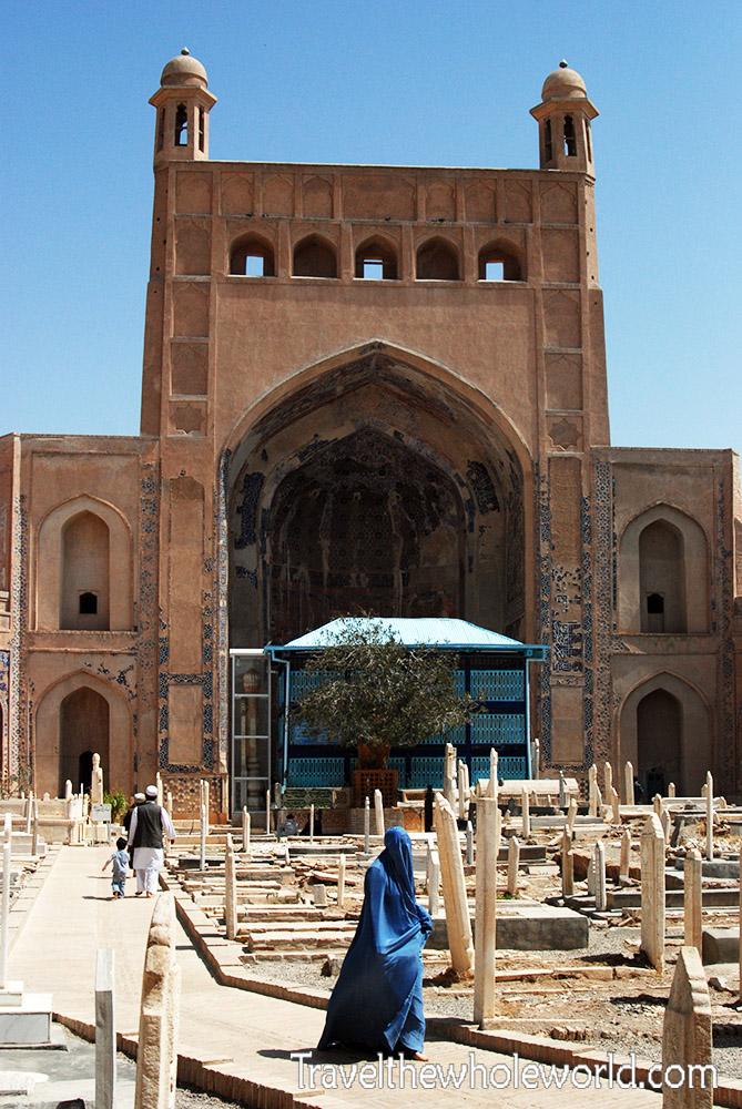 Afghanistan Herat Gazar Gah Entrance